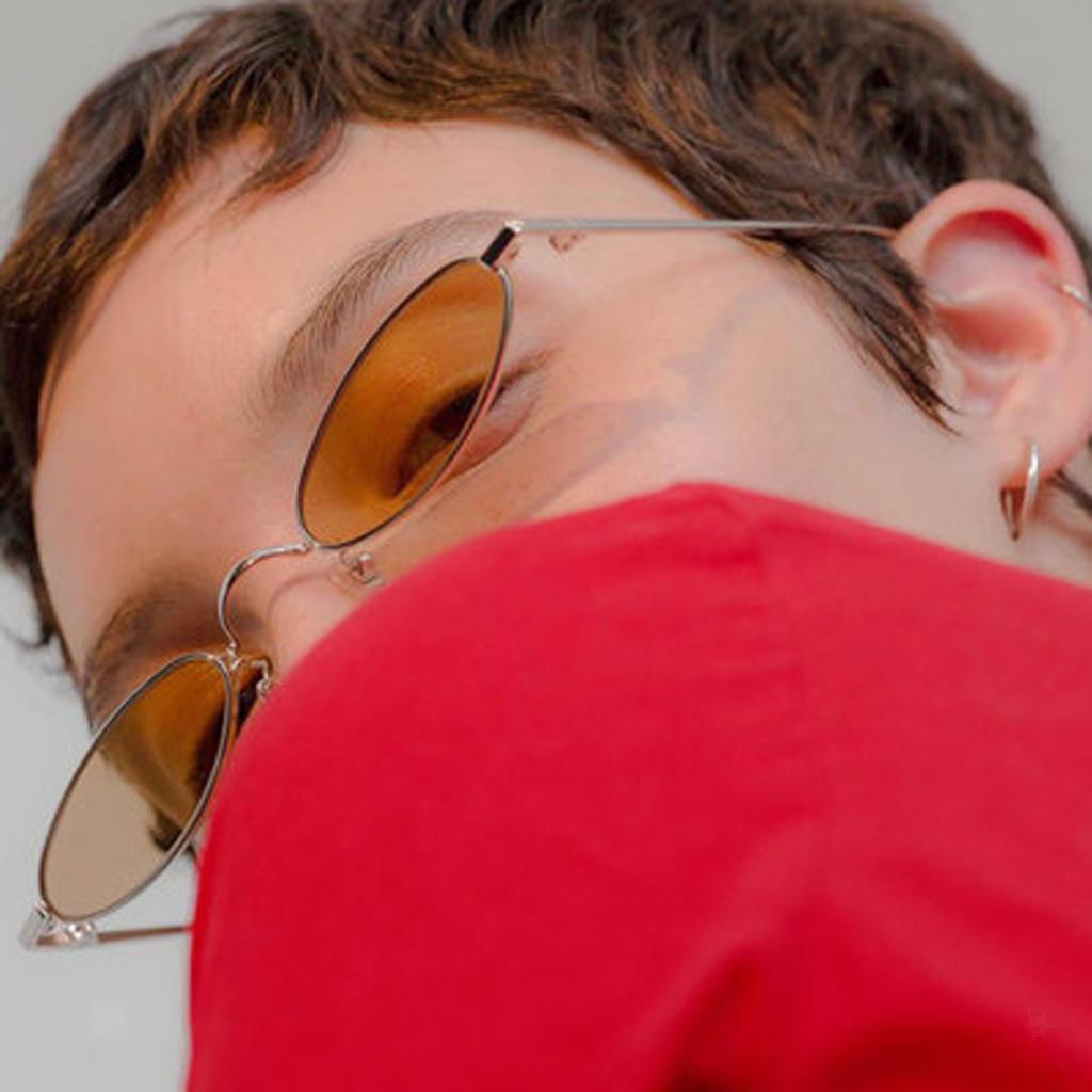 Womens-Plastic-Frame-Fashion-Vintage-Retro-Oval-Sunglasses-UV400-Eyewear-Glasses thumbnail 11