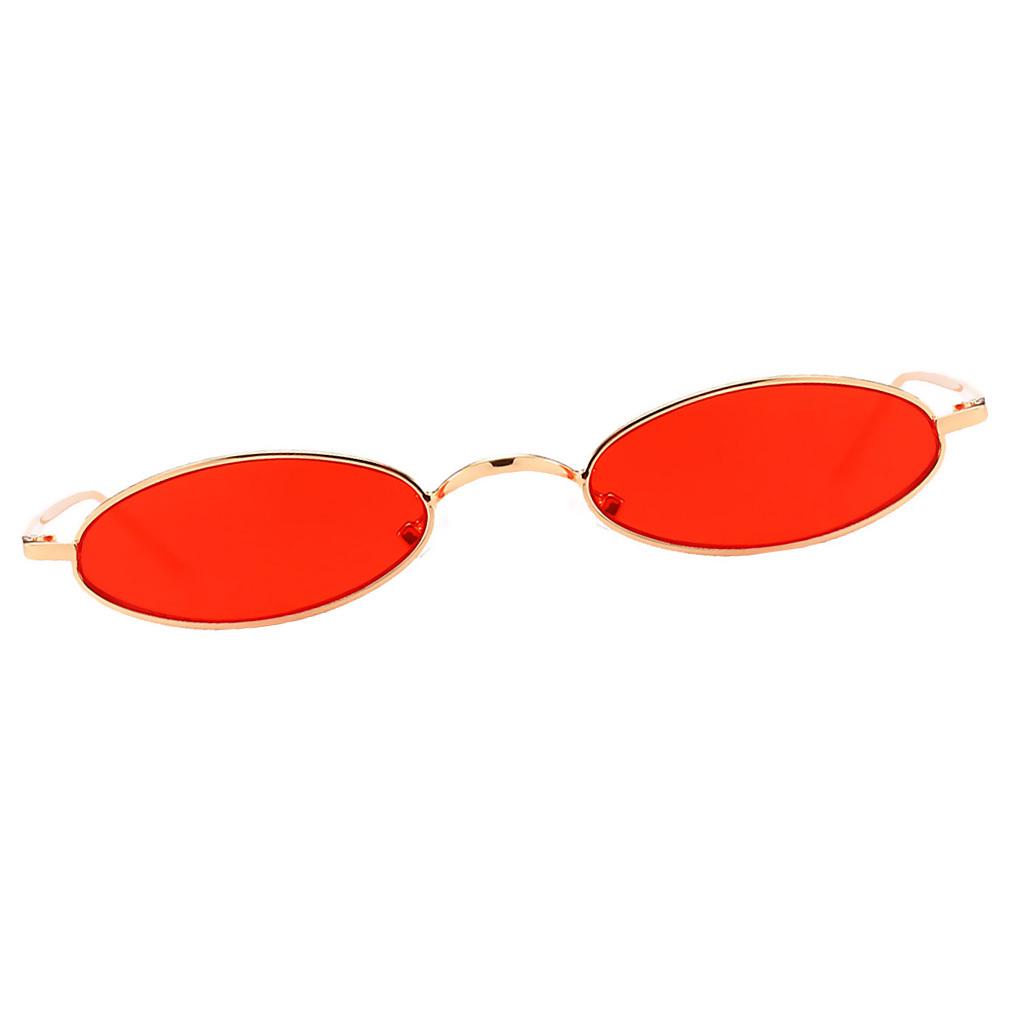 Womens-Plastic-Frame-Fashion-Vintage-Retro-Oval-Sunglasses-UV400-Eyewear-Glasses thumbnail 6