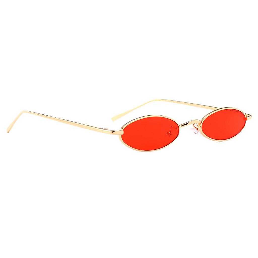 Womens-Plastic-Frame-Fashion-Vintage-Retro-Oval-Sunglasses-UV400-Eyewear-Glasses thumbnail 7