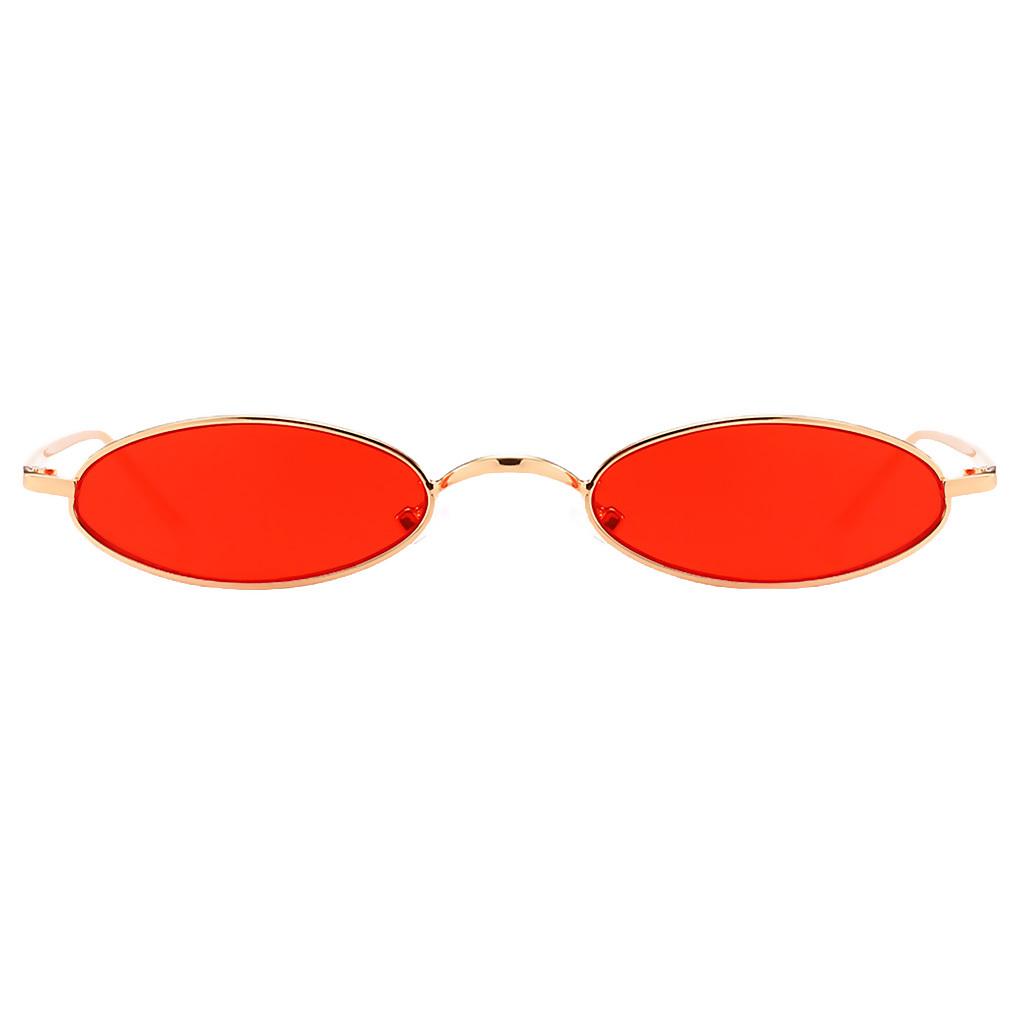 Womens-Plastic-Frame-Fashion-Vintage-Retro-Oval-Sunglasses-UV400-Eyewear-Glasses thumbnail 8