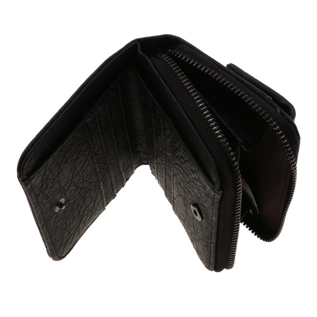 Portafoglio-da-donna-in-pelle-con-fermasoldi-Porta-carte-di-credito-da-donna miniatura 13