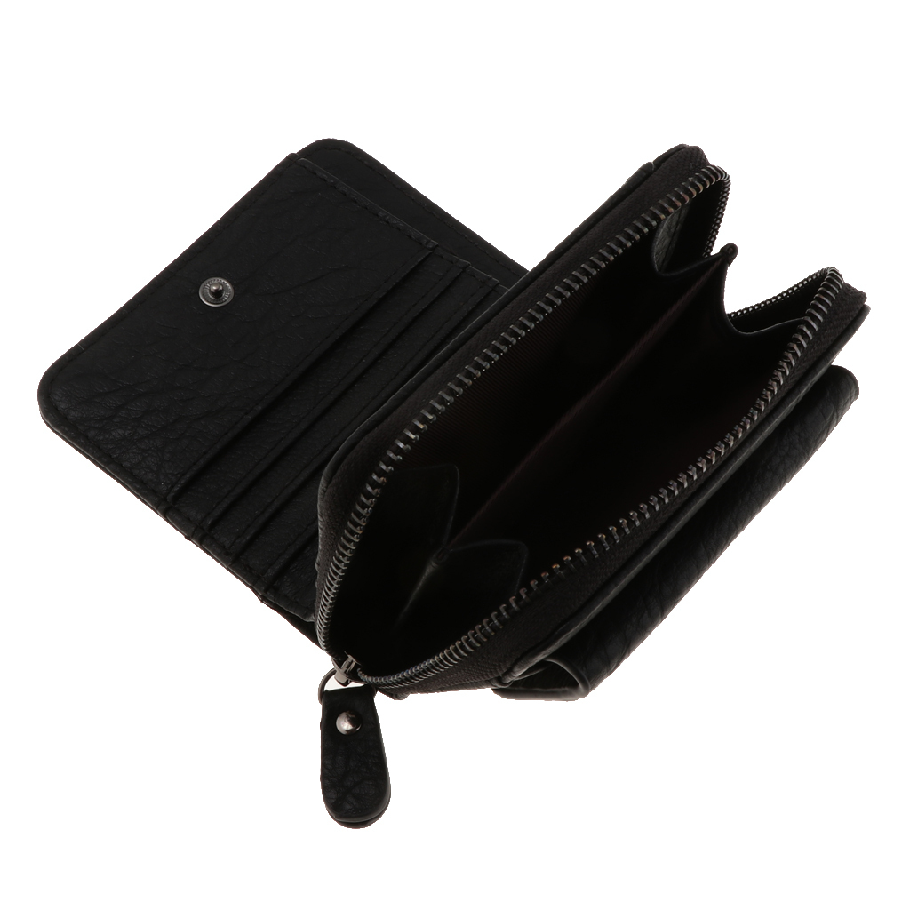 Portafoglio-da-donna-in-pelle-con-fermasoldi-Porta-carte-di-credito-da-donna miniatura 12