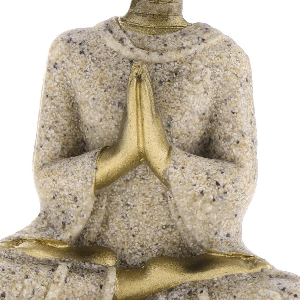 Sandstone-Carving-Statue-Sculpture-Buddha-Animal-Hand-Carved-Figurine-Decor thumbnail 24