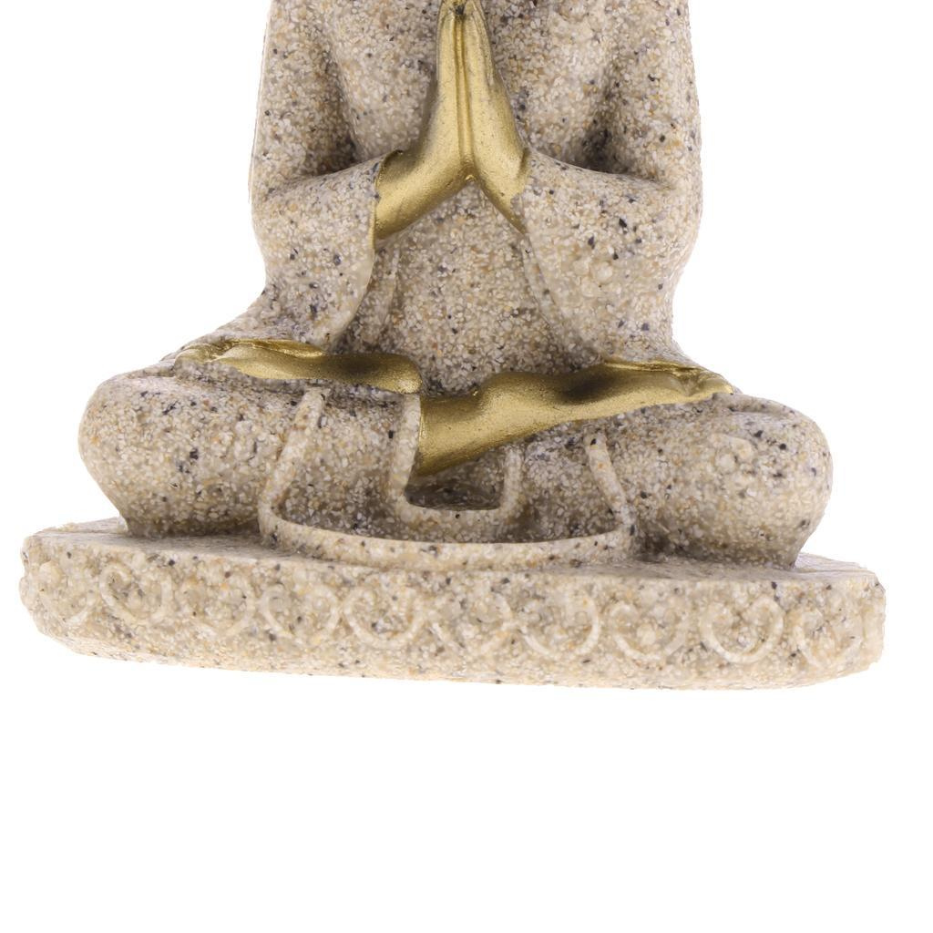 Sandstone-Carving-Statue-Sculpture-Buddha-Animal-Hand-Carved-Figurine-Decor thumbnail 25
