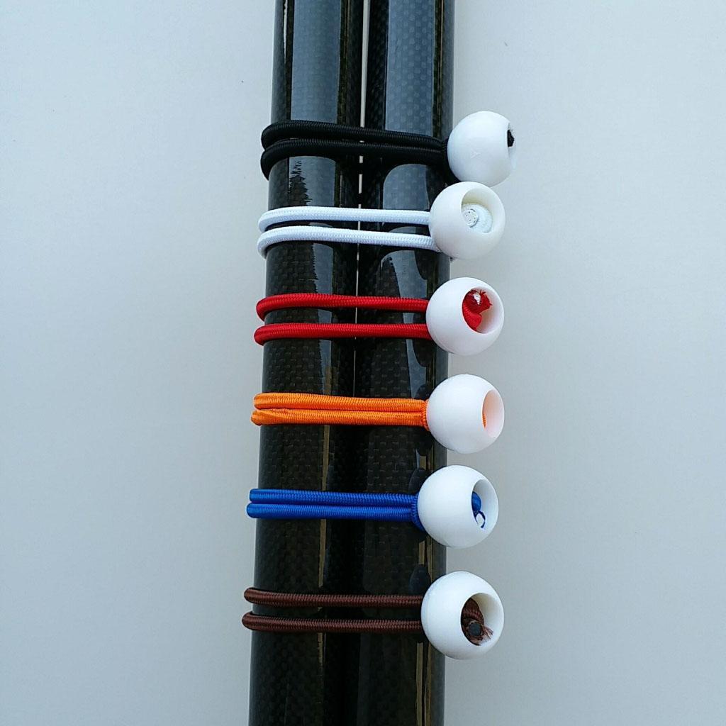"""12pc 6/"""" Color Ball Cordon élastique Bâche élastique Tie Down Strap Bungi Canopy Straps"""