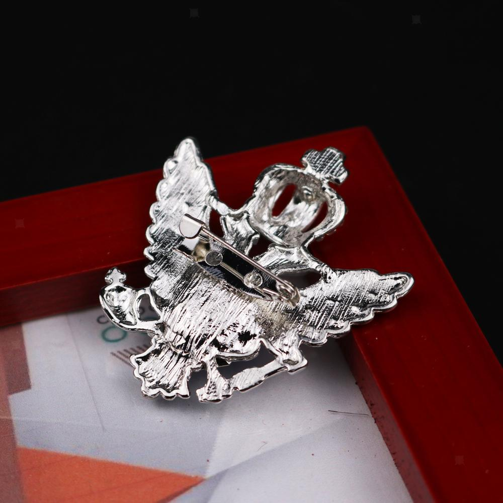 Unisex-Men-Vintage-Crystal-Crown-Eagle-Brooch-Pins-Suit-Breastpin-Collar-Pin thumbnail 5