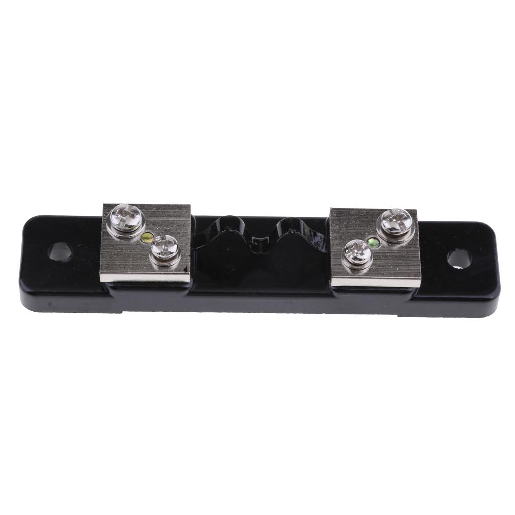 Resistore-shunt-da-75-mv-per-amperometro-di-corrente-continua-amperometro miniatura 3
