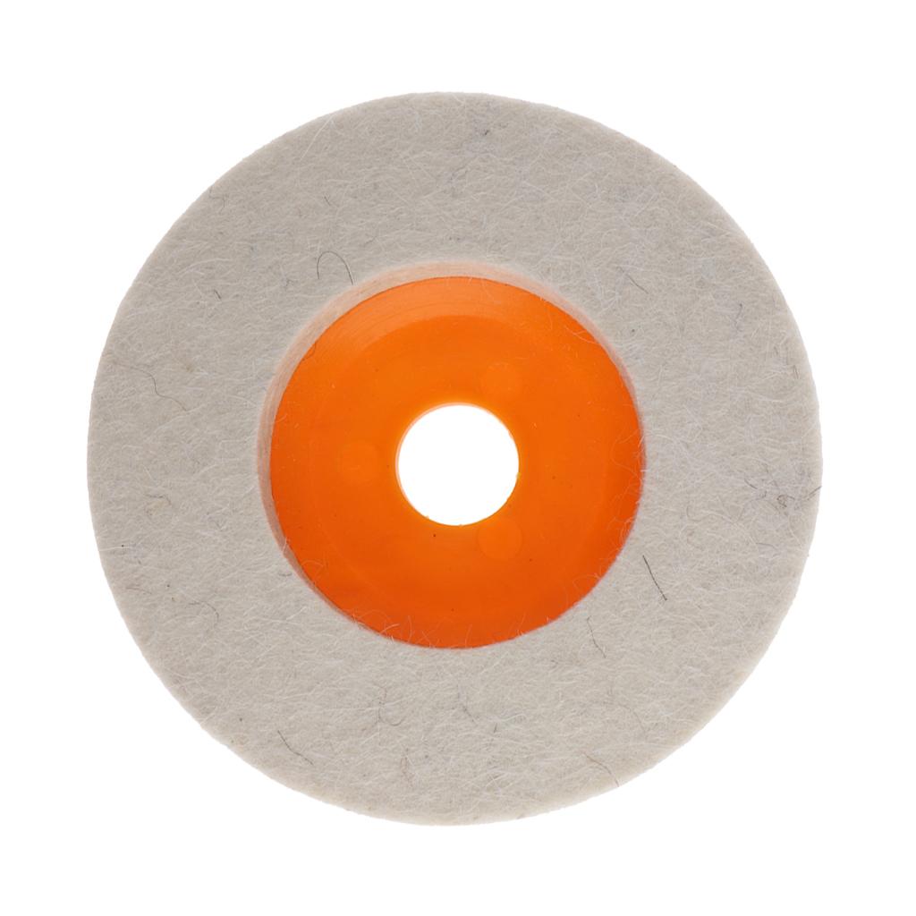 miniatura 3 - Cuscinetti-Lucidatura-Tamponi-Durevole-Feltro-Lana-Rotoli-Da-4-039-039