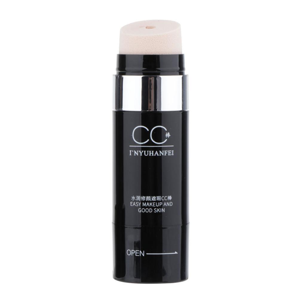 Waterproof-Rotary-CC-Cream-Concealer-Foundation-for-Beauty-Make-Up-30g miniature 5