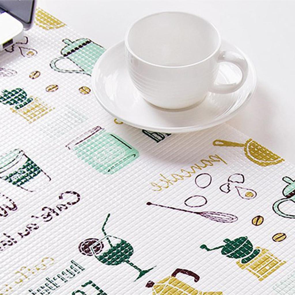 Küche Schrankmatte Schubladenmatte,rutschfeste Roll 200x45cm Fünf Form Auswahl