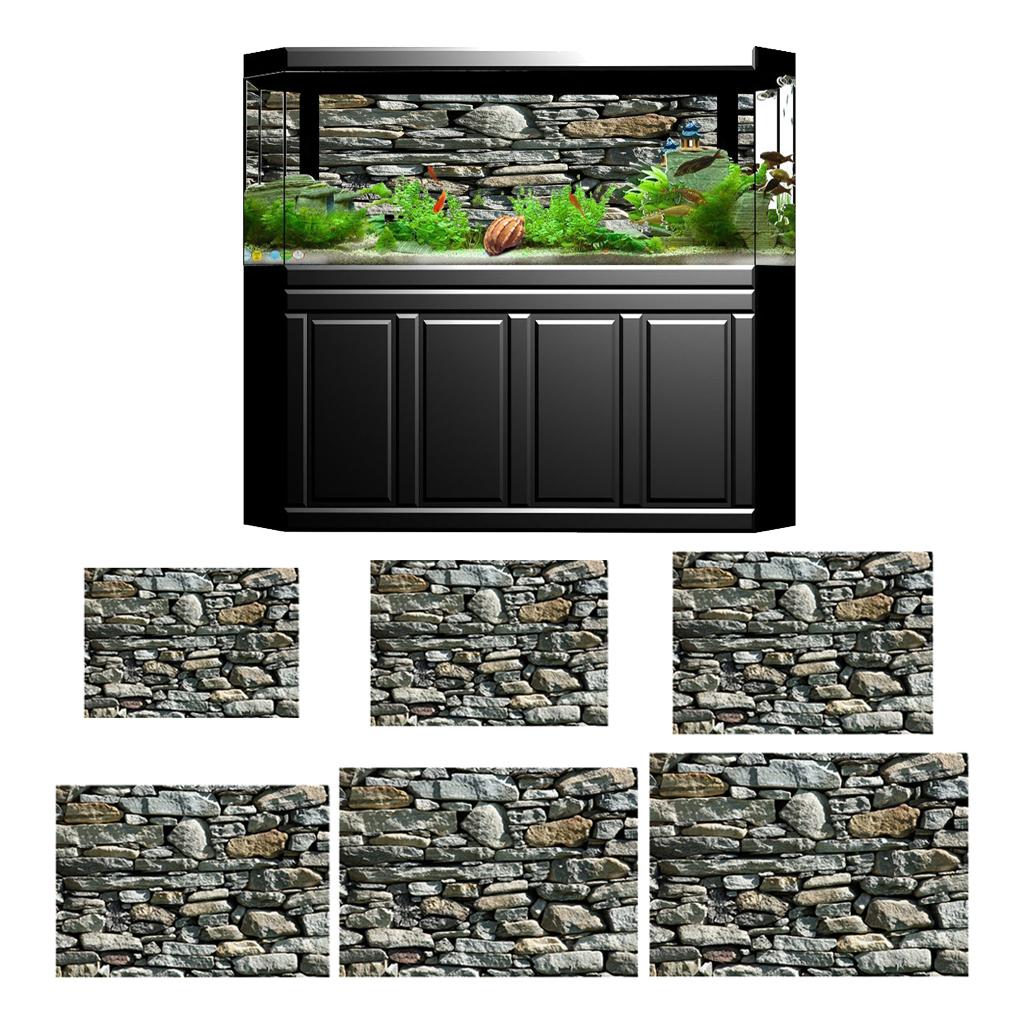 3D-High-Definition-Background-Paper-Wallpaper-Decor-for-Aquarium-Fish-Tank thumbnail 44