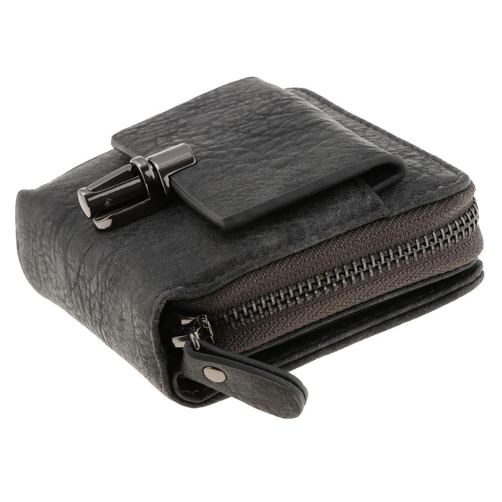 Portafoglio-da-donna-in-pelle-con-fermasoldi-Porta-carte-di-credito-da-donna miniatura 17