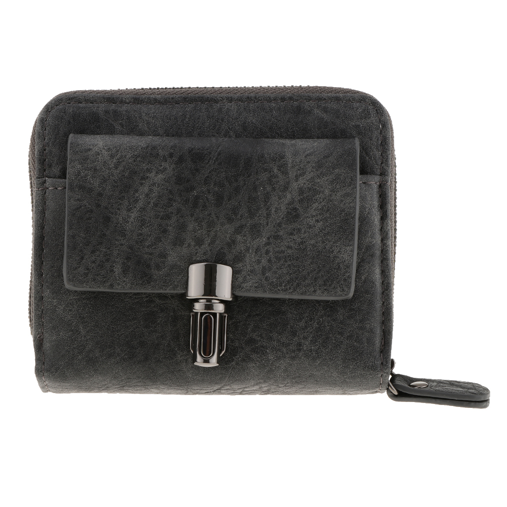 Portafoglio-da-donna-in-pelle-con-fermasoldi-Porta-carte-di-credito-da-donna miniatura 16