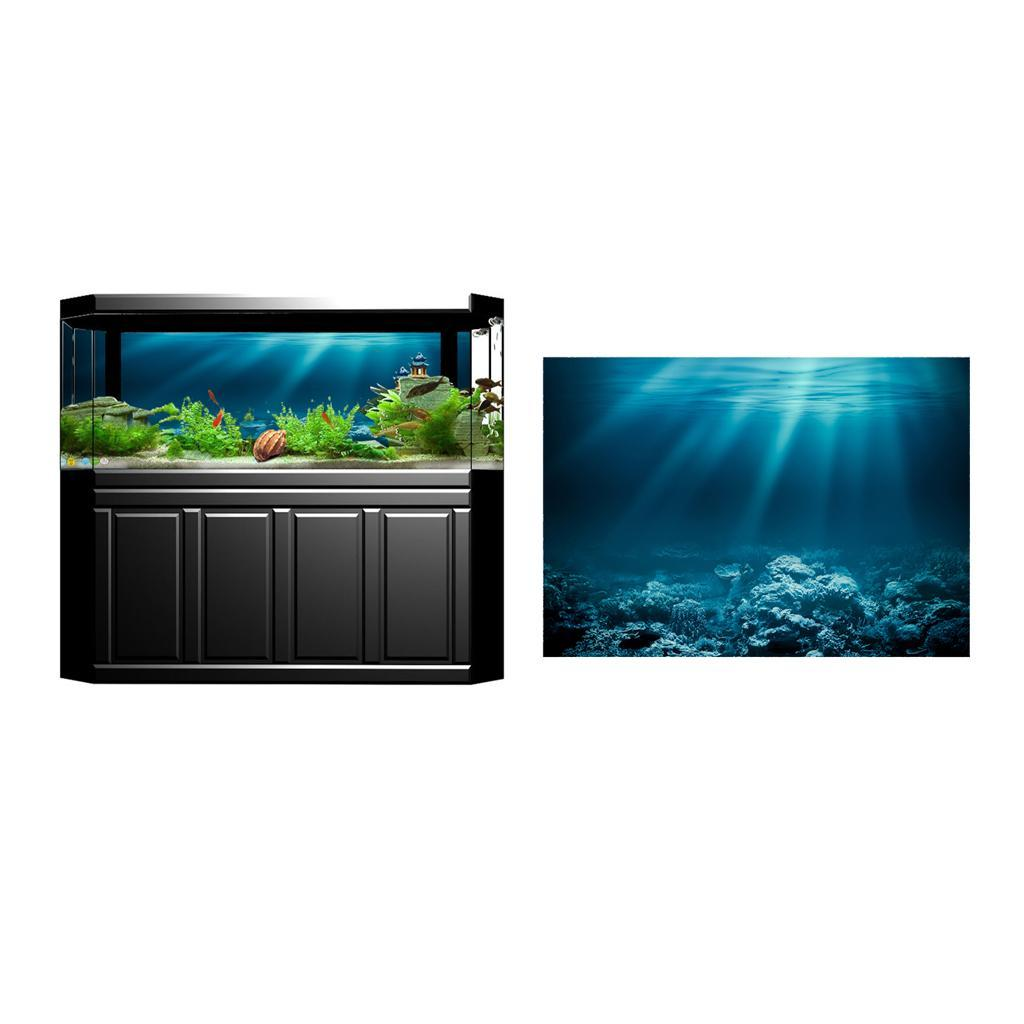 3D Aquarium Background Fish Tank Wallpaper Sticker