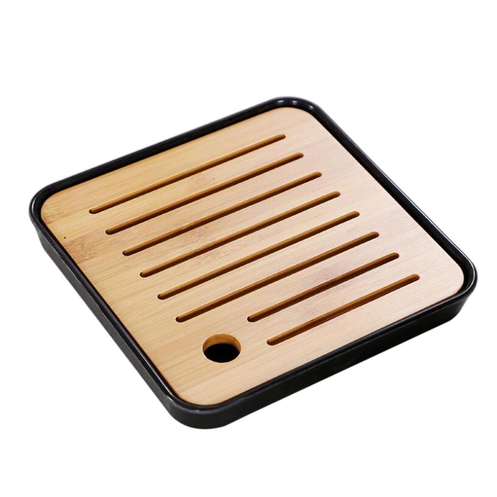 Square-Melamine-Bamboo-Tea-Tray-Drainage-Water-Storage-Kung-Fu-Tea-set thumbnail 6