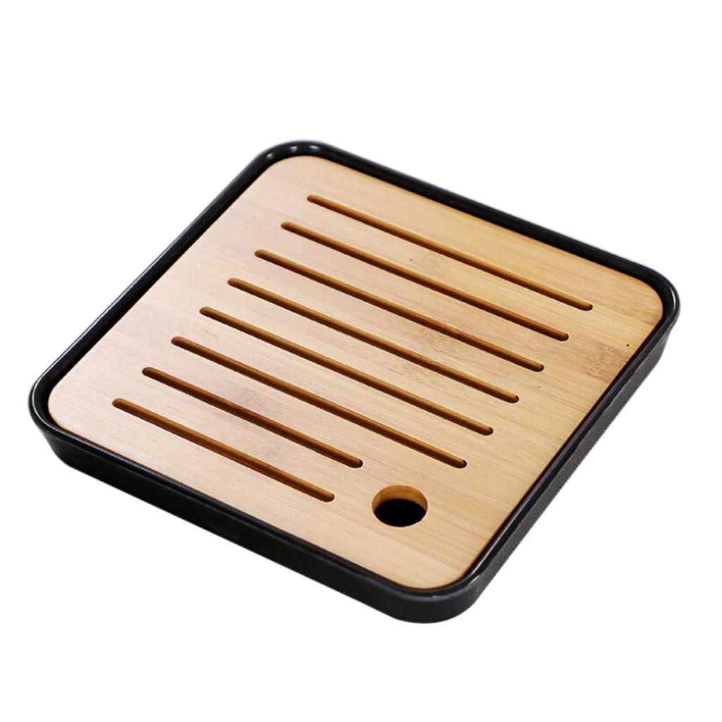 Square-Melamine-Bamboo-Tea-Tray-Drainage-Water-Storage-Kung-Fu-Tea-set thumbnail 7