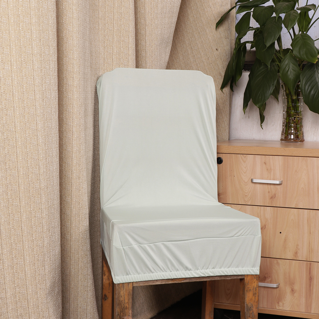Stretchable Bar Stool Low Back Short Chair Seat Cover