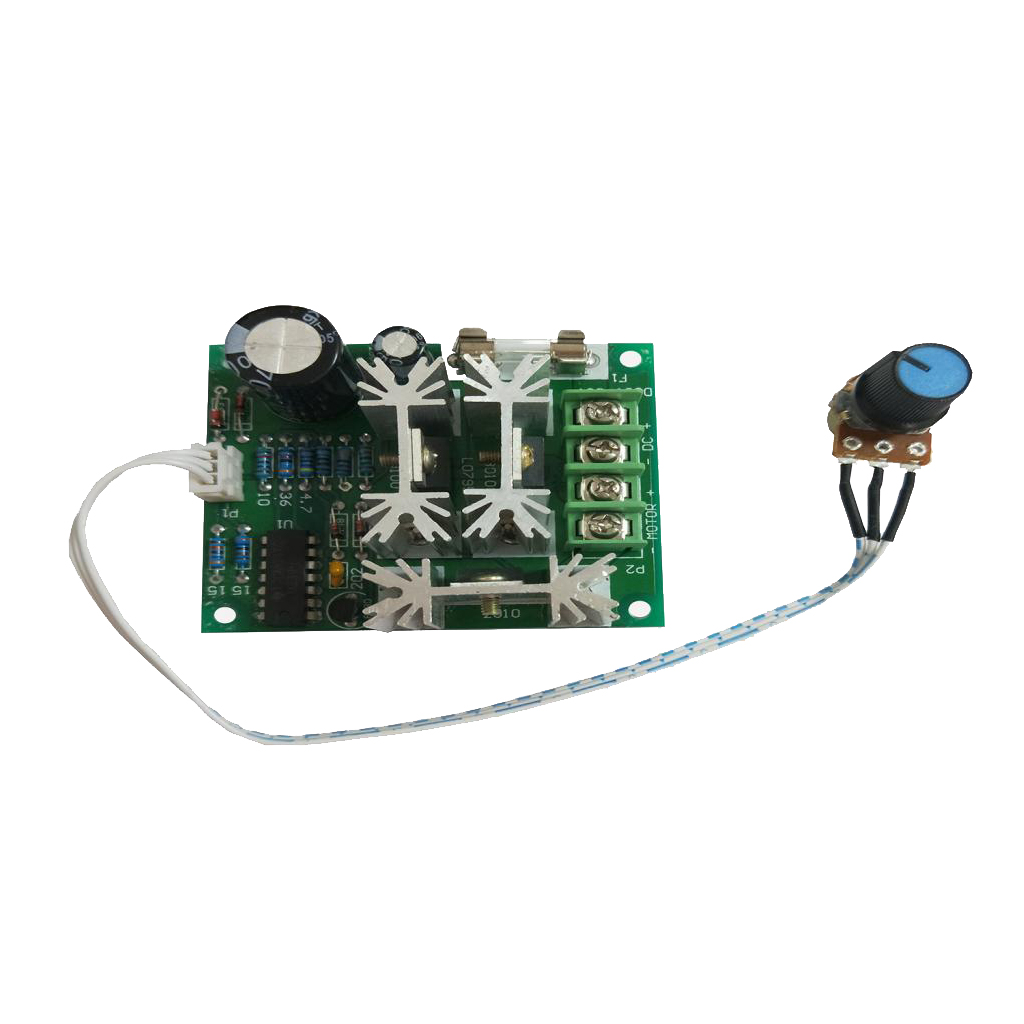 6V-90V 15A DC Motor Pump Speed Controller Of Stepless Speed Regulating Switch