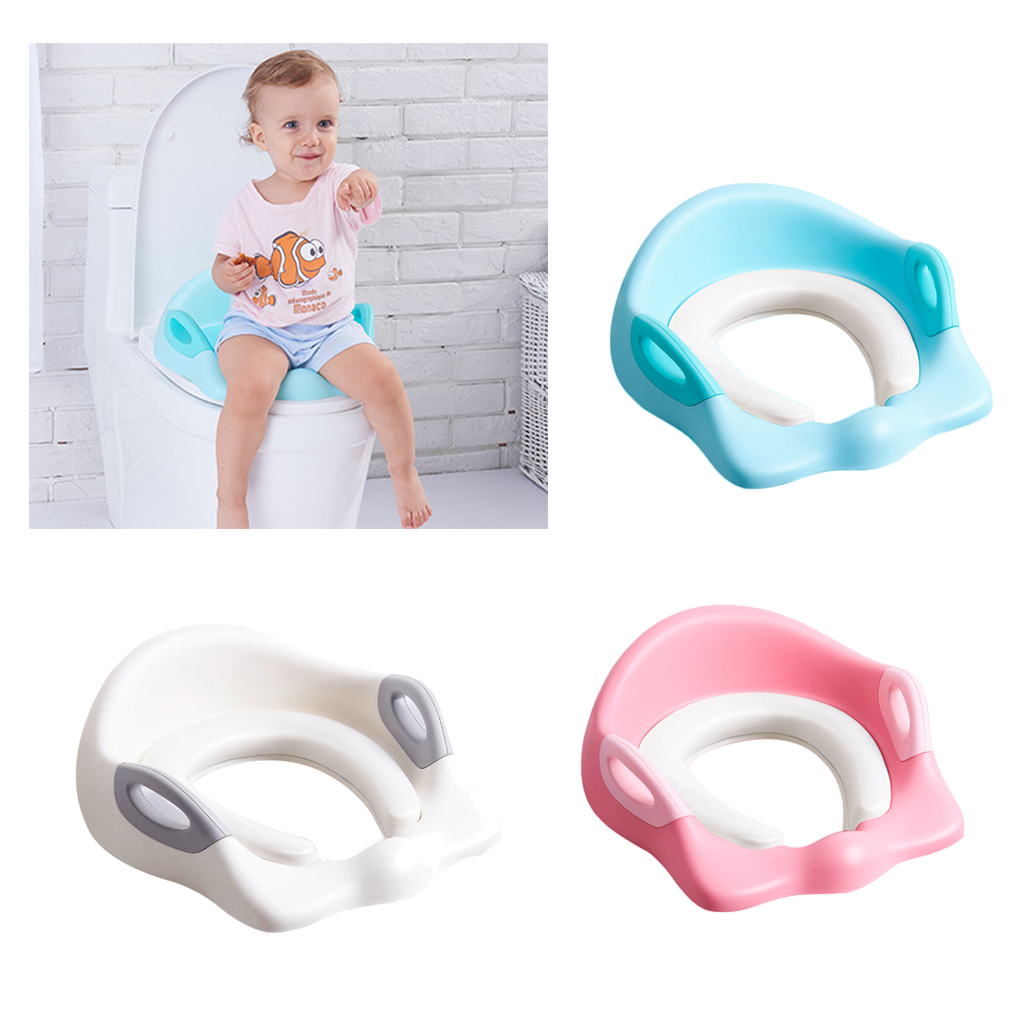 Baby Toilet Seat Pad Cover Potty Cushion Toddler Padded  Soft