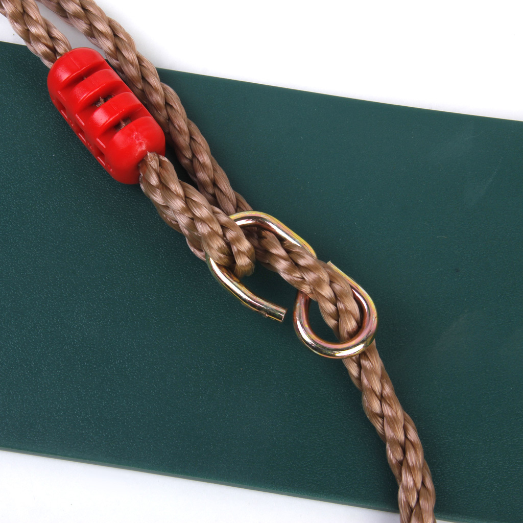 Garden-Swing-Set-Seat-Rope-Hanging-Strap-Connector-Metal-Chain-Kid-Adult-Outdoor miniatuur 18