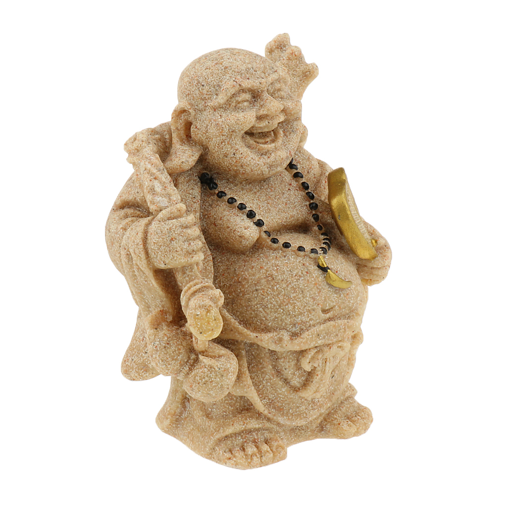 Sandstone-Carving-Statue-Sculpture-Buddha-Animal-Hand-Carved-Figurine-Decor thumbnail 31