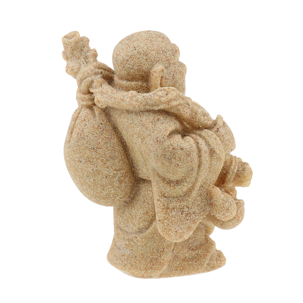 Sandstone-Carving-Statue-Sculpture-Buddha-Animal-Hand-Carved-Figurine-Decor thumbnail 33
