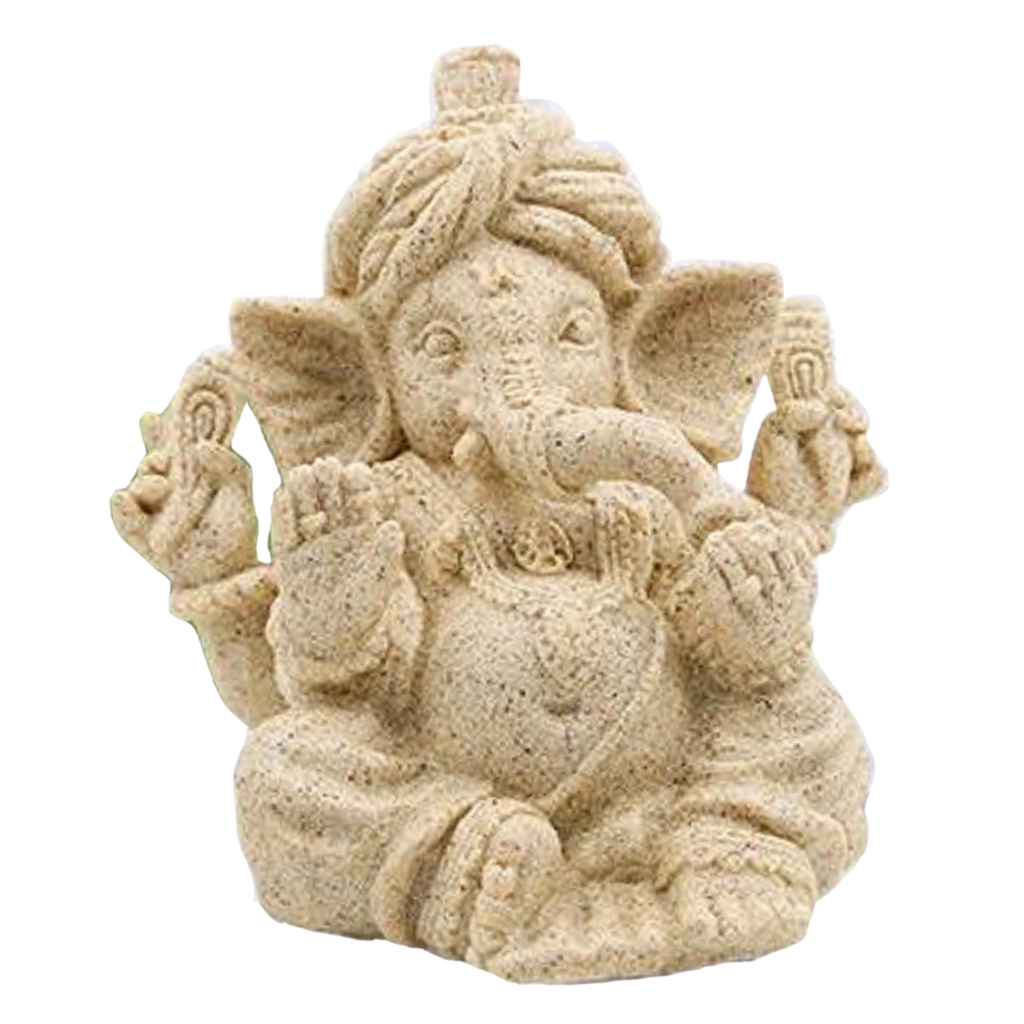 Sandstone-Carving-Statue-Sculpture-Buddha-Animal-Hand-Carved-Figurine-Decor thumbnail 11