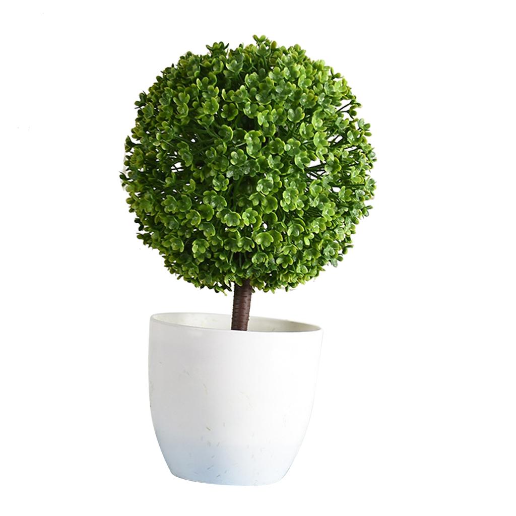 Gros Pot Fleur Plastique détails sur fausse plante artificielle en plastique bonsaï fleur en pot  vivantes pour
