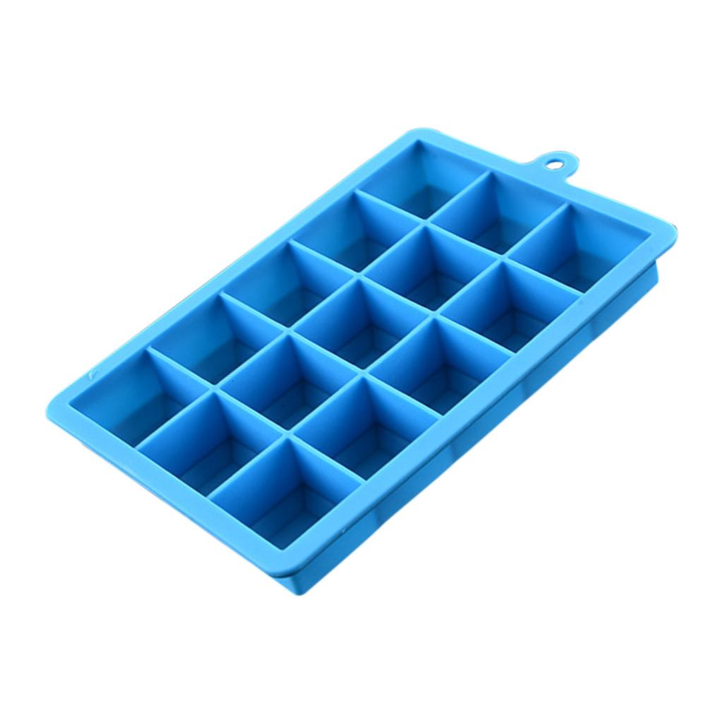 4-Couleurs-Silicone-Ice-Cube-Tray-Mold-Bar-Ice-Cube-Chocolate-Mold-Moule-Plateau miniature 11