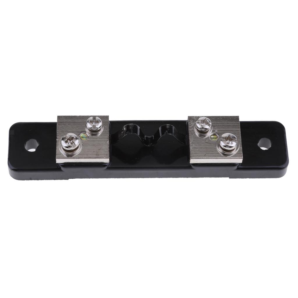 Resistore-shunt-da-75-mv-per-amperometro-di-corrente-continua-amperometro miniatura 10