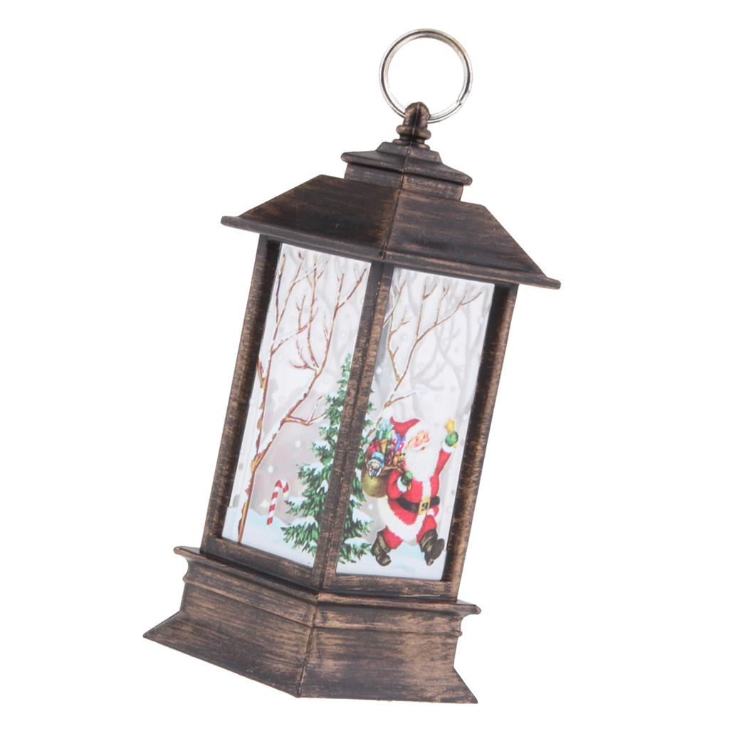 thumbnail 3 - Christmas LED Candle Lantern Xmas Lamp Decor DIY Home Party Gift Decoration