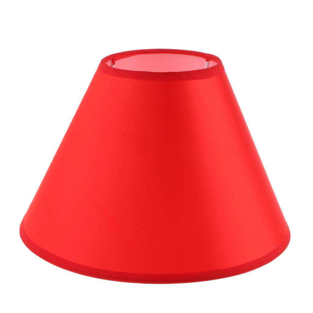 Paralume-in-Tessuto-per-lampada-da-tavolo-o-soffitto-Classico-in-Diversi-Colori miniatura 18