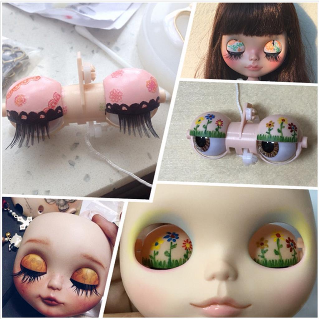 Doll Soft Head Scalp Hard Shell for 12 Takara RBL Blythe