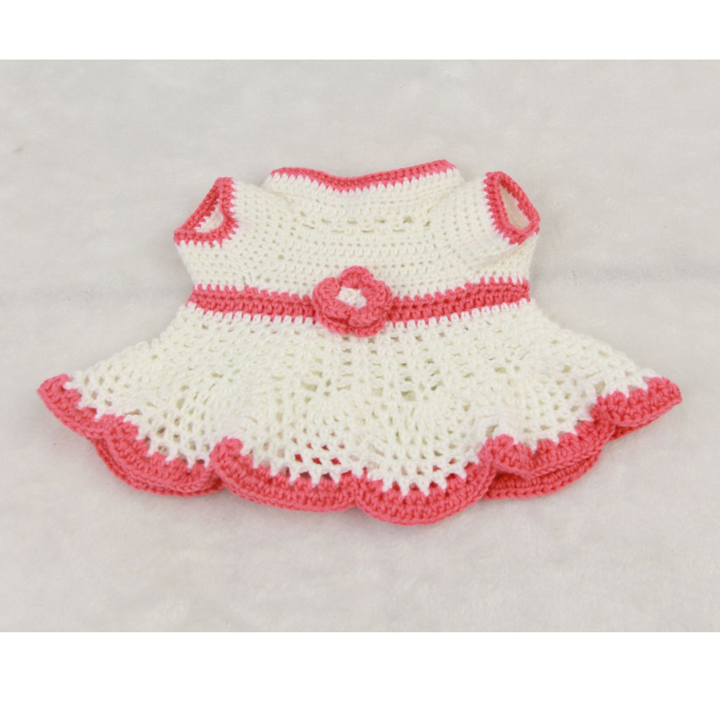 Handknitted-Dress-Socks-Set-for-17-18inch-Reborn-Baby-Girl-Toy-Doll-Clothes miniature 13