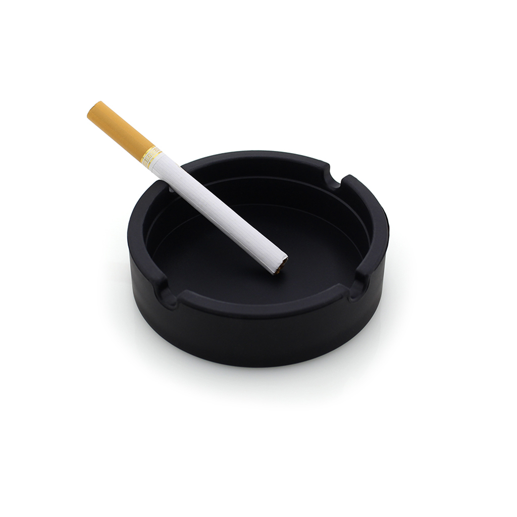 Round-Ashtrays-for-Cigarettes-Ash-Holder-for-Smokers-Gifts-Home-Office-Decor thumbnail 4
