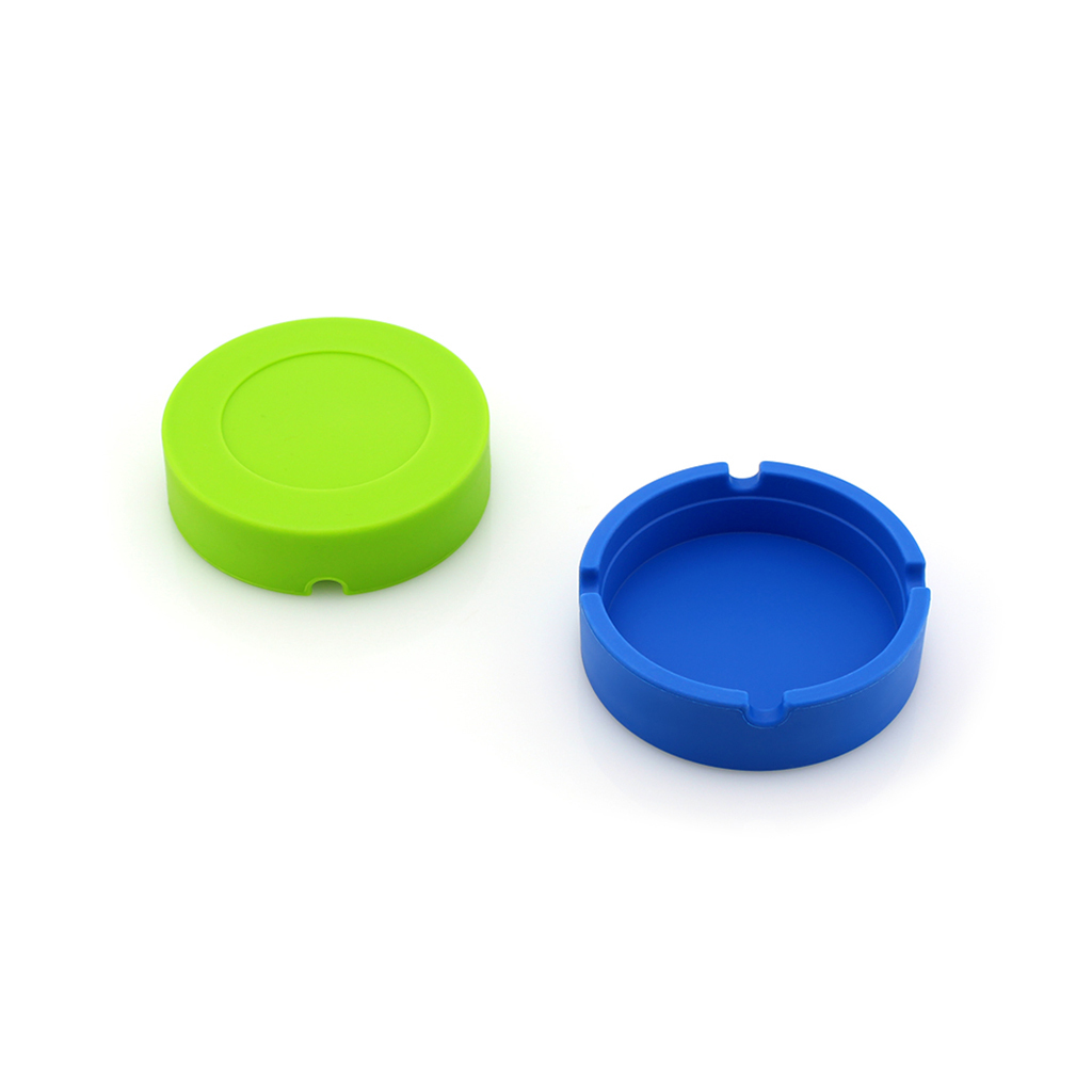 Round-Ashtrays-for-Cigarettes-Ash-Holder-for-Smokers-Gifts-Home-Office-Decor thumbnail 3