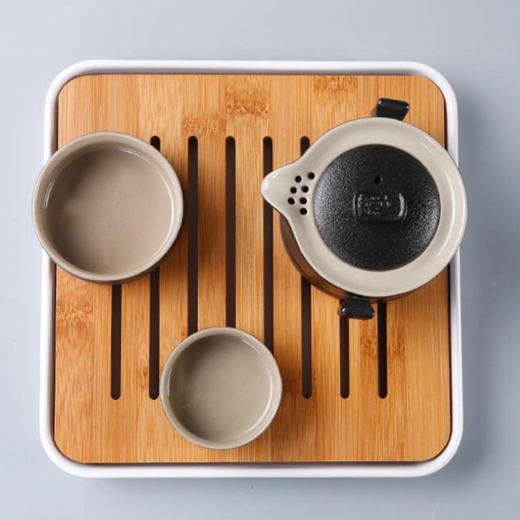 Square-Melamine-Bamboo-Tea-Tray-Drainage-Water-Storage-Kung-Fu-Tea-set thumbnail 10
