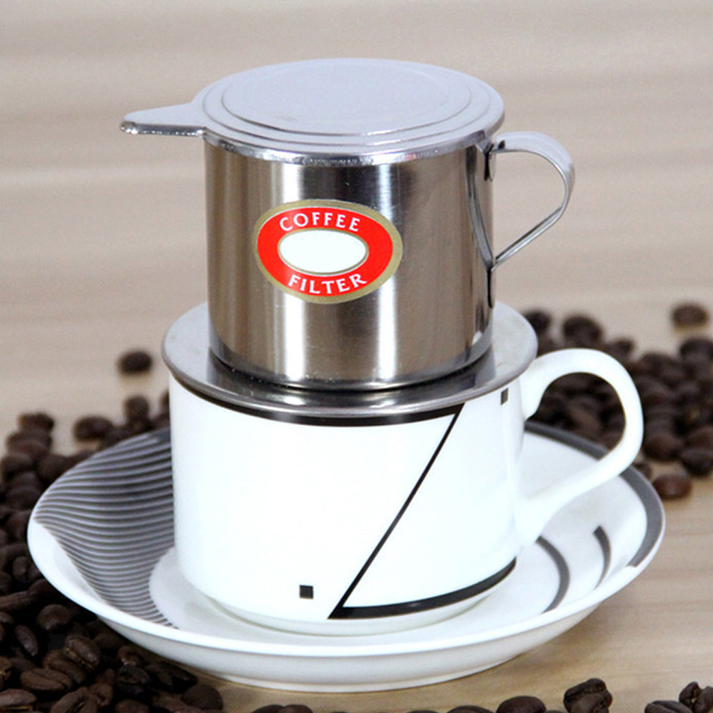 MagiDeal-Vietnamese-Coffee-Cup-Filter-Stainless-Steel-Coffee-Screw-Filter thumbnail 3