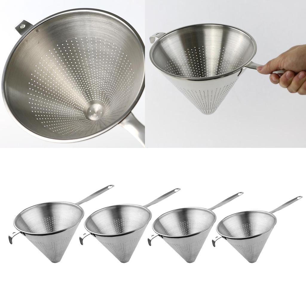 miniatura 11 - Funnel Dry Liquid Funnel Cono Shape Accessorio Cucina Acciaio inossidabile