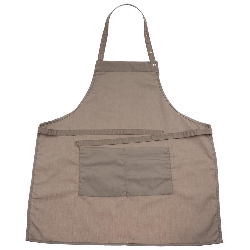 Adjustable-Bib-Apron-Dress-Kitchen-Restaurant-Chef-Classic-Cooking-Uniform thumbnail 13