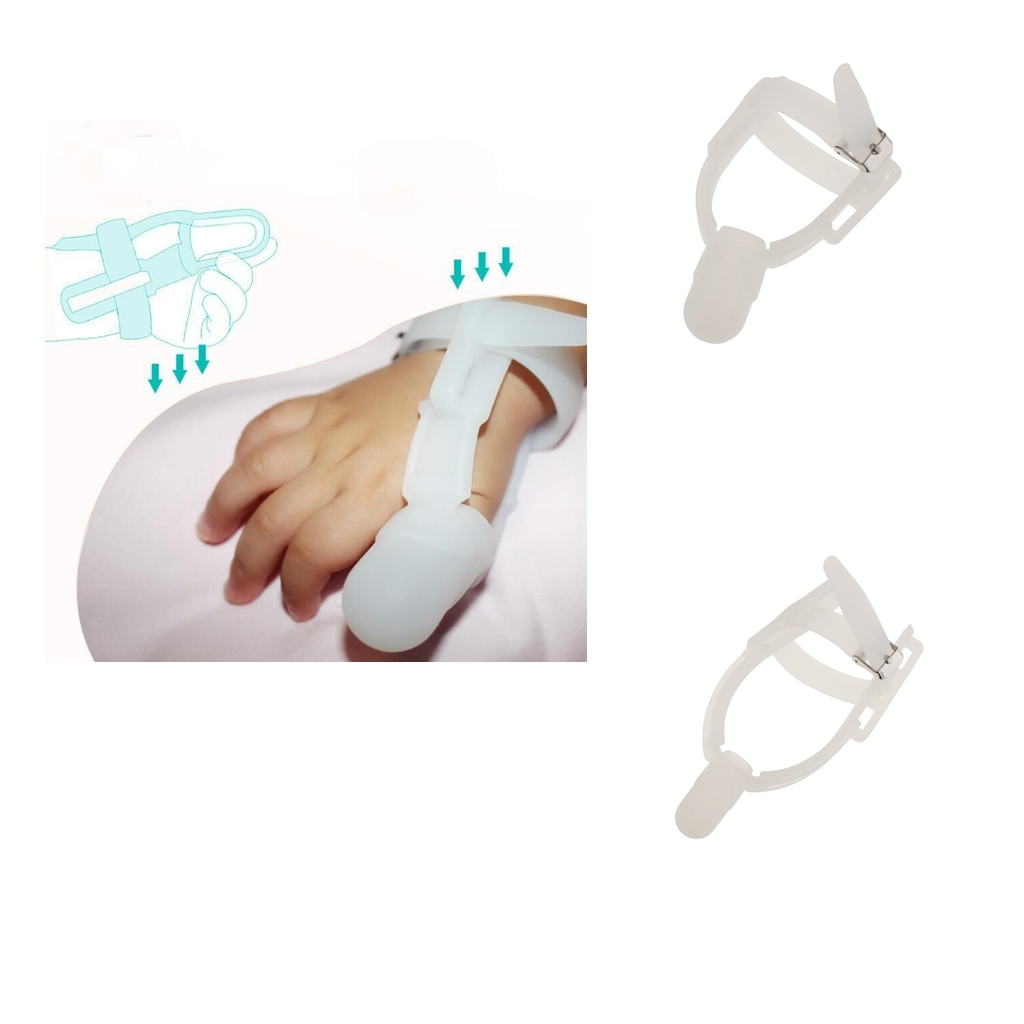 Baby Kids Forefingerthumb Sucking Stop Silicone Finger Guard Protect -8226