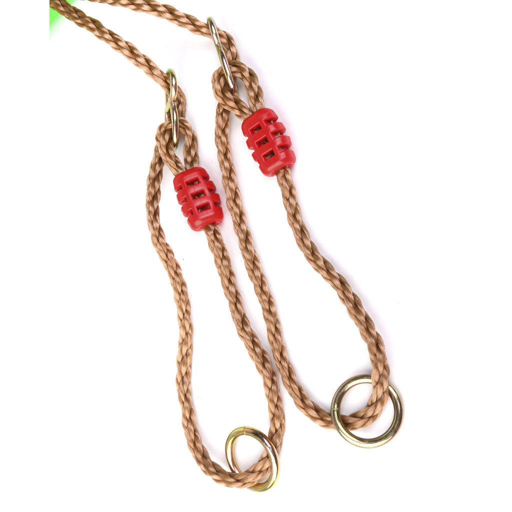 Garden-Swing-Set-Seat-Rope-Strap-Connector-Chain-Kid-Adult-Outdoor-Fun-Play-Game miniatuur 13