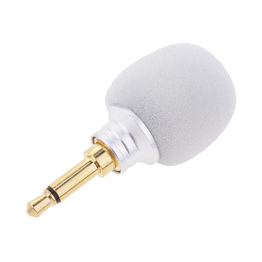 35mm Mono Stereo Jack Condenser Microphone For Phones Amplifiers Mic Amplifier Recording