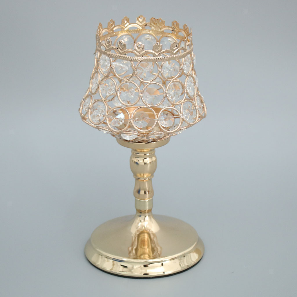 Crystal-Bling-Votive-Tealight-Candle-Holder-Wedding-Party-Venue-Centerpieces thumbnail 43