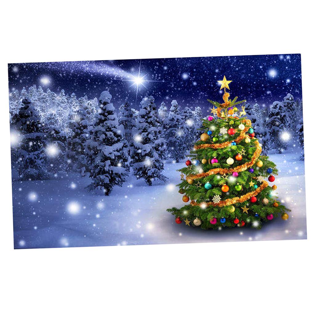 Scenografia-di-Natale-Murale-Arazzo miniatura 16