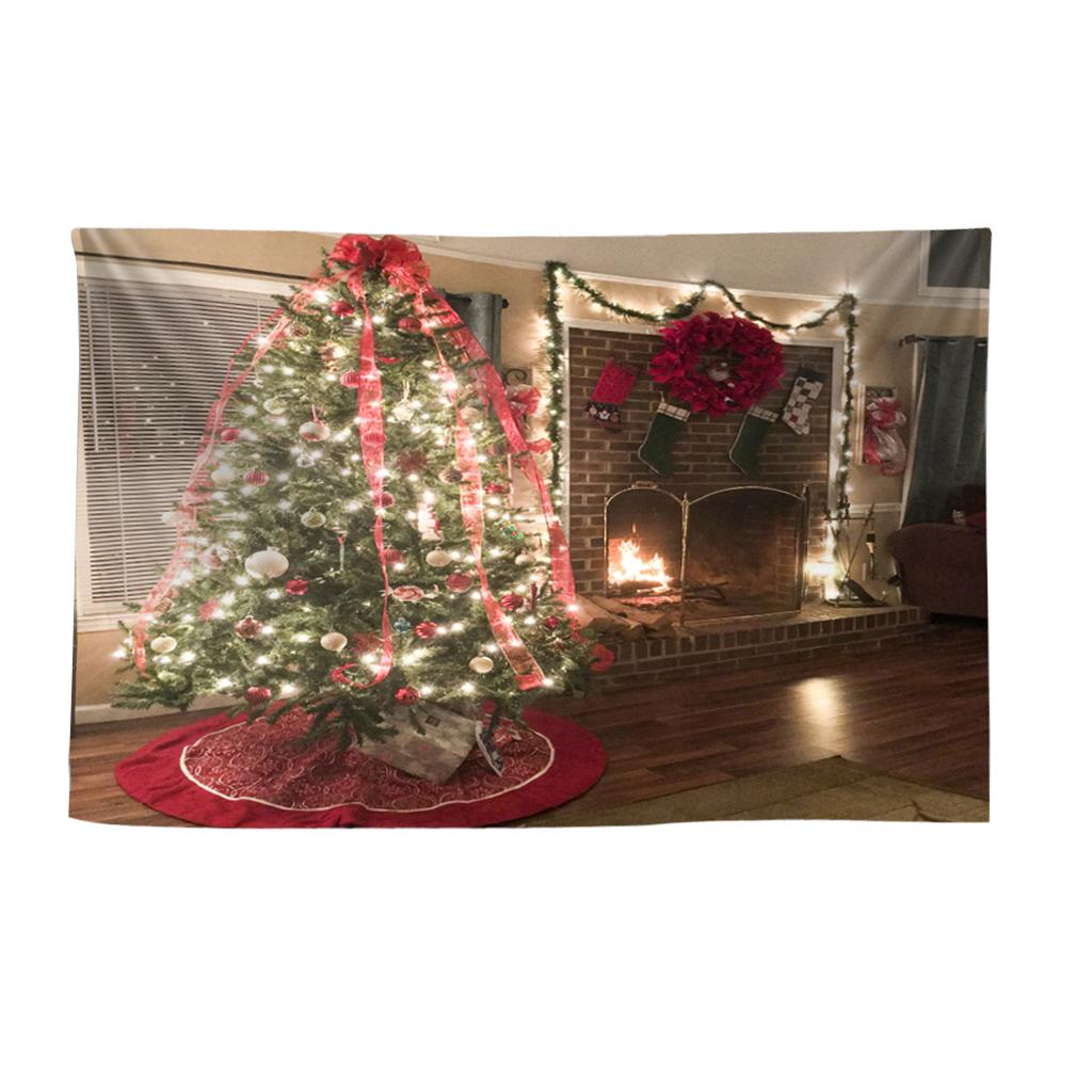 Scenografia-di-Natale-Murale-Arazzo miniatura 31