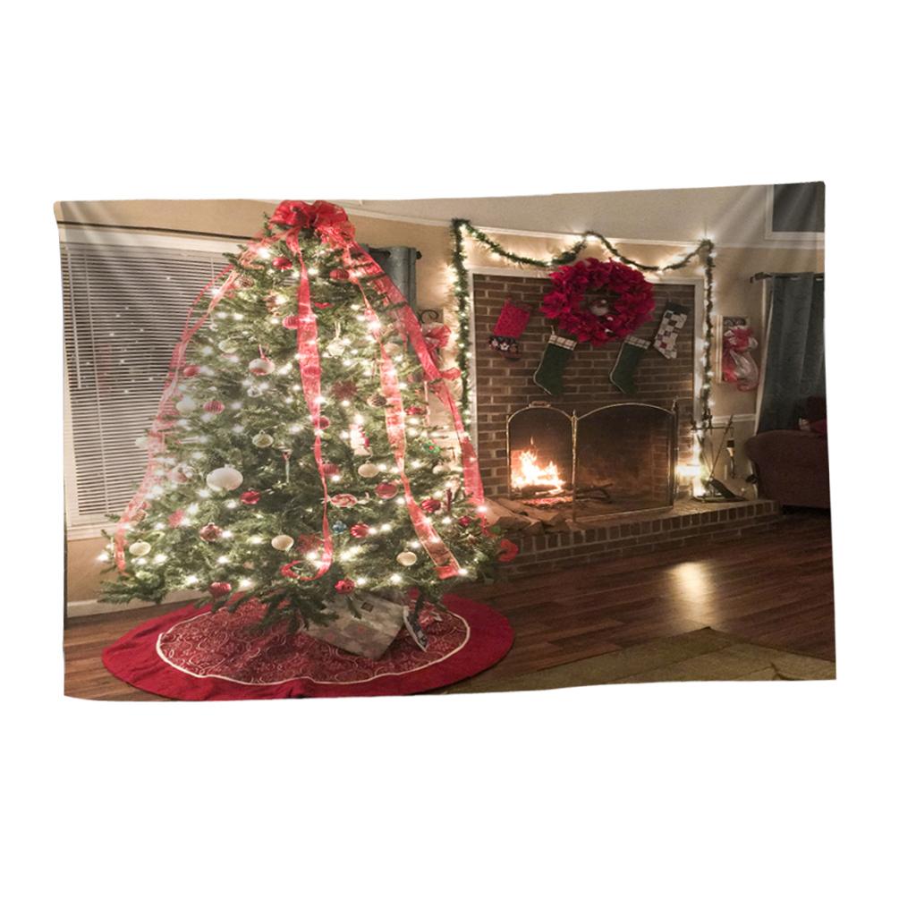 Scenografia-di-Natale-Murale-Arazzo miniatura 32