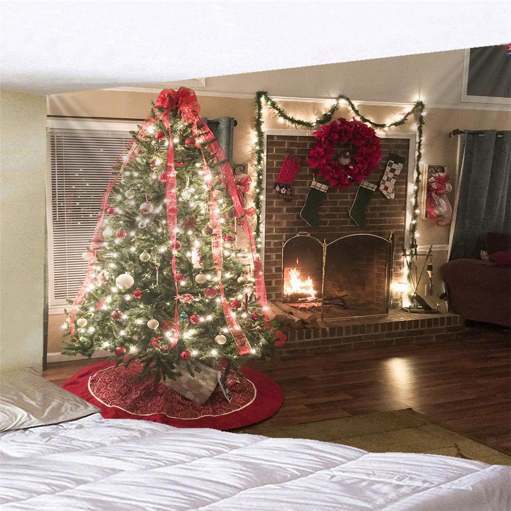 Scenografia-di-Natale-Murale-Arazzo miniatura 30