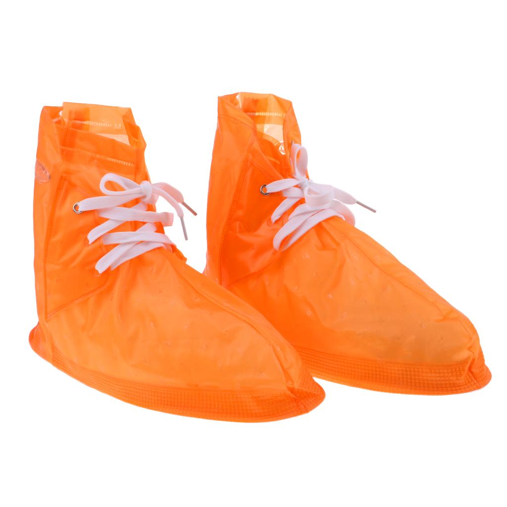 Copriscarpe-impermeabili-pieghevoli-riutilizzabili-da-donna-per-uomo miniatura 6