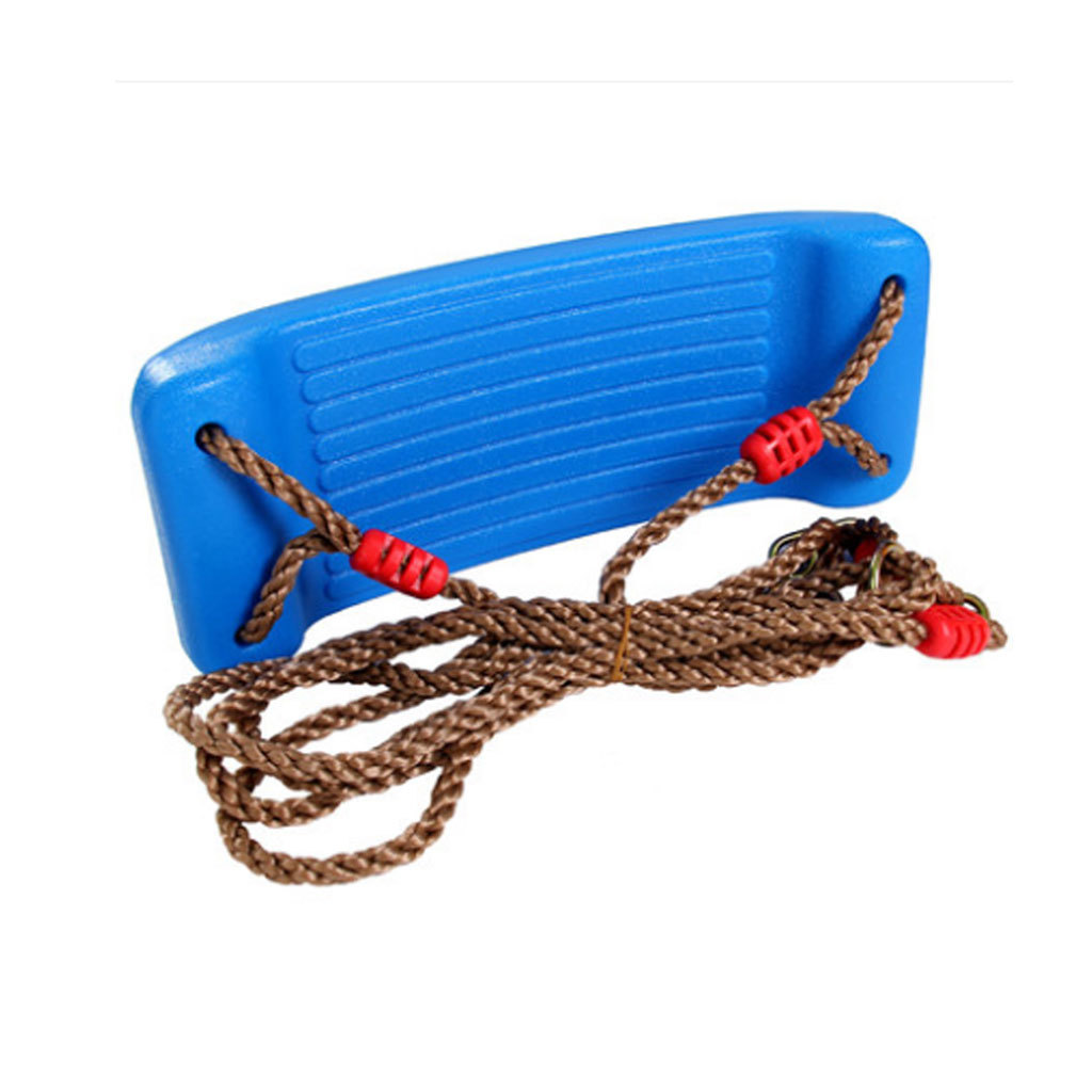 Garden-Swing-Set-Seat-Rope-Strap-Connector-Chain-Kid-Adult-Outdoor-Fun-Play-Game miniatuur 4